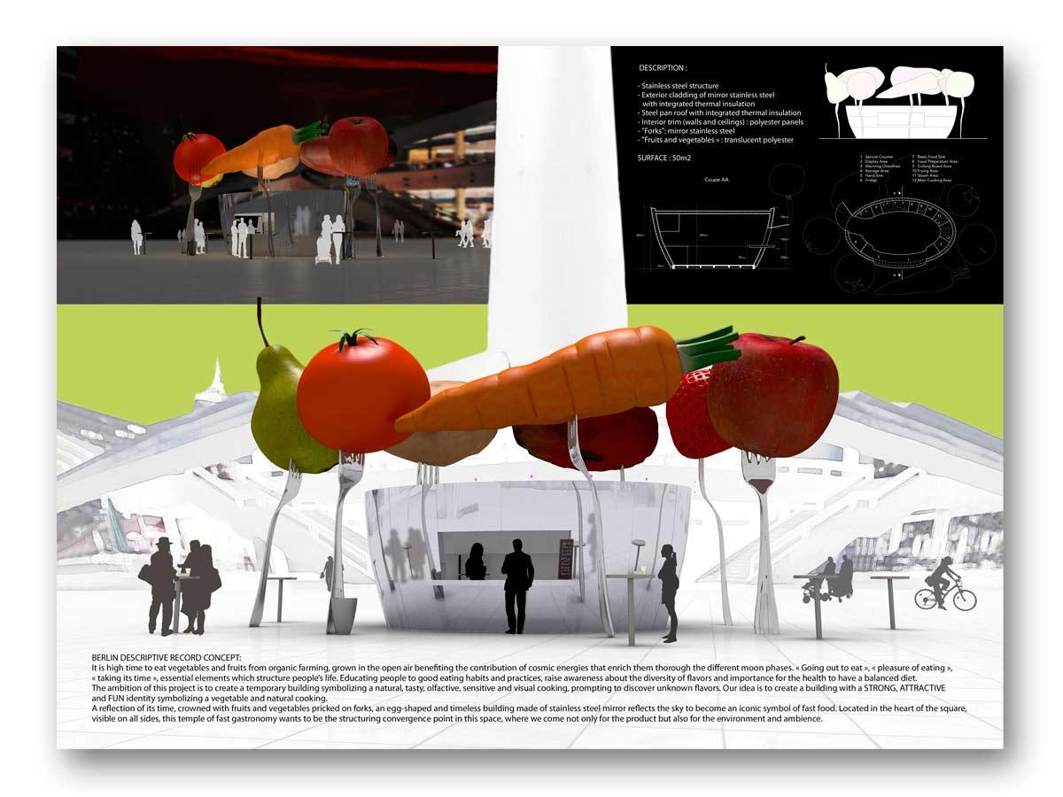 3D rendu coucours Berlin - B.SAILLOL architecture