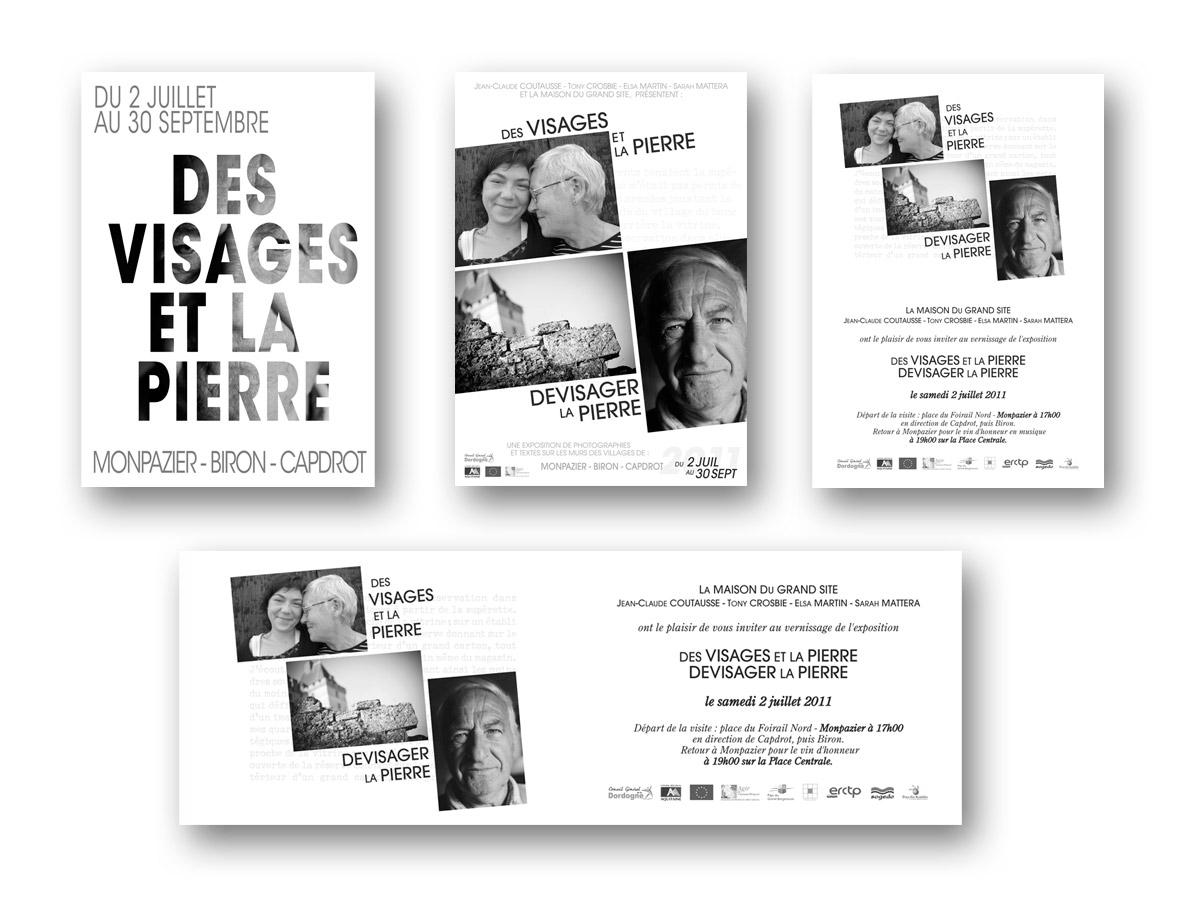 Edition - exposition Des Visages Et La Pierre - fasmdesign.com