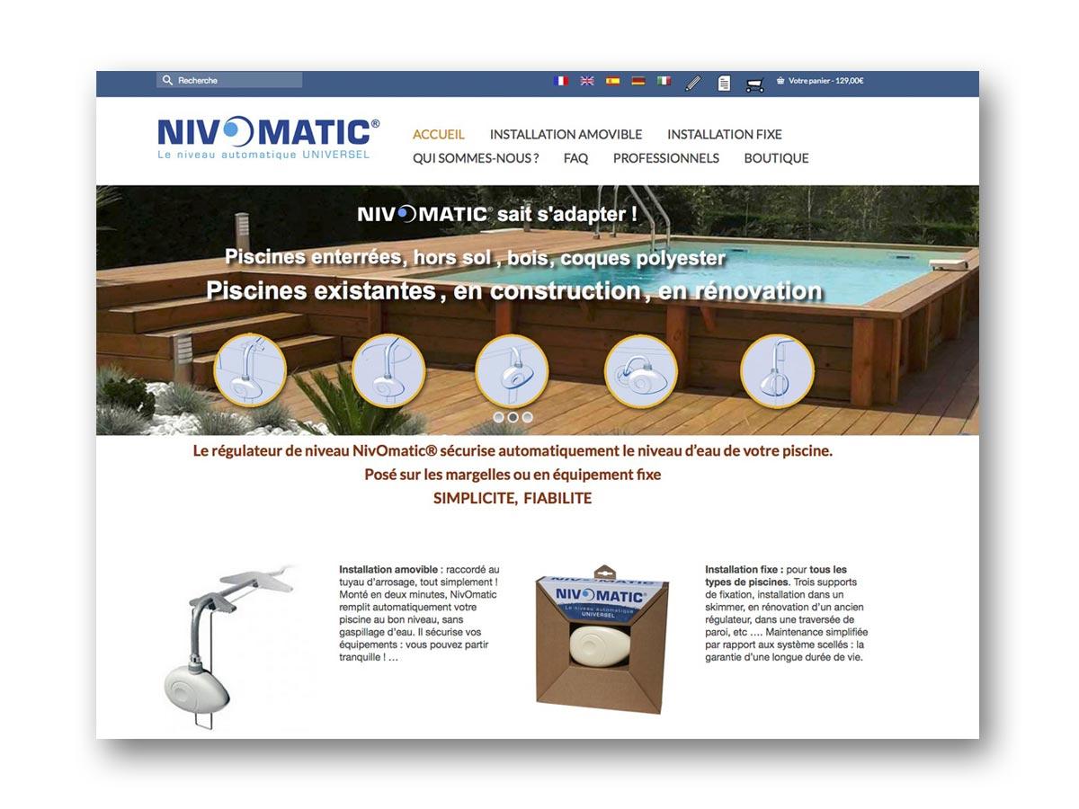 Nivomatic régulateur de niveau d'eau pour piscine