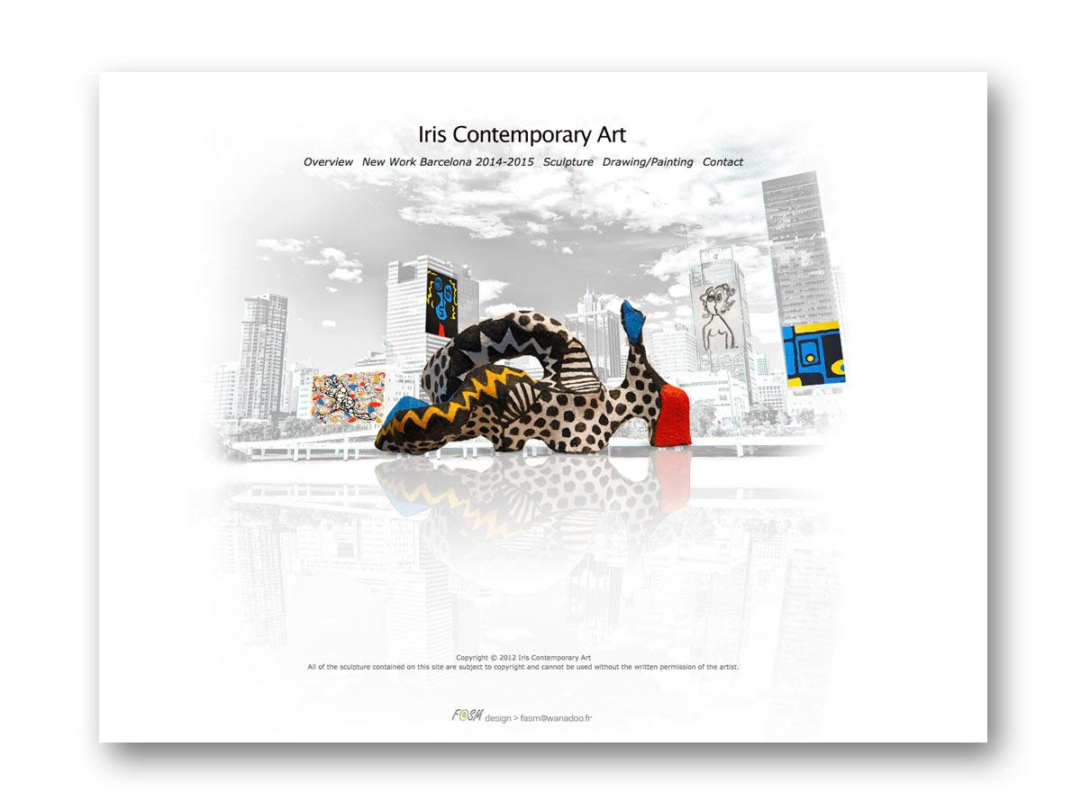 Site Leslie Bigelman - fasmdesign.com