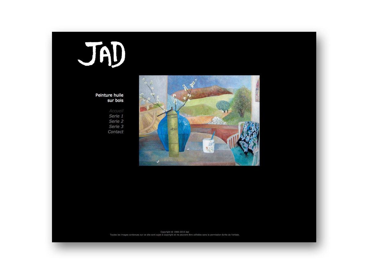 Site JAD artiste peintre - fasmdesign.com