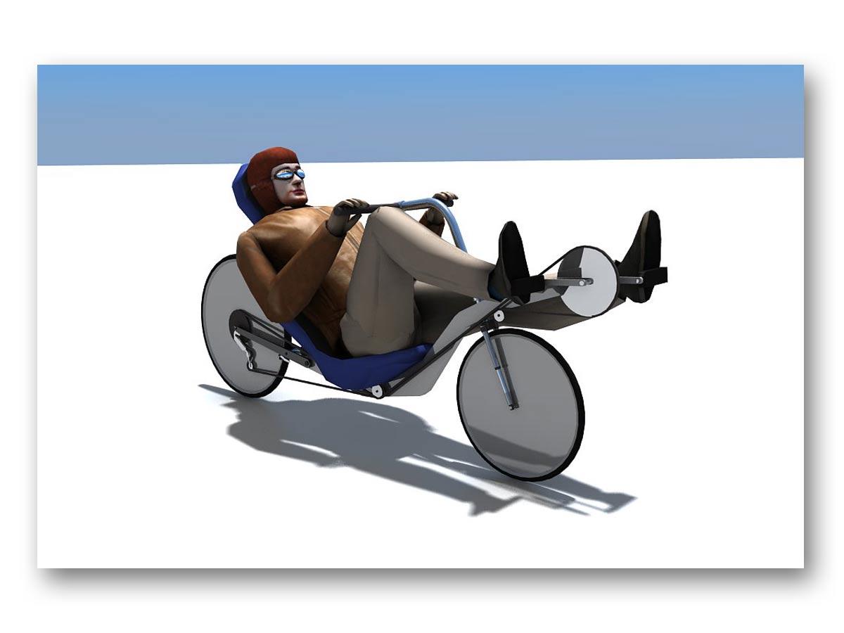 3D rendu prototype vélo - fasmdesign.com