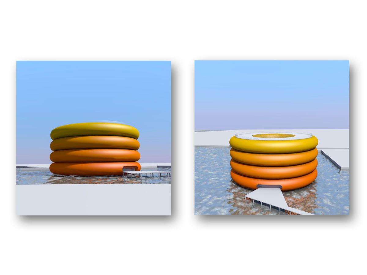 3D rendu coucours Amsterdam - B.SAILLOL architecture