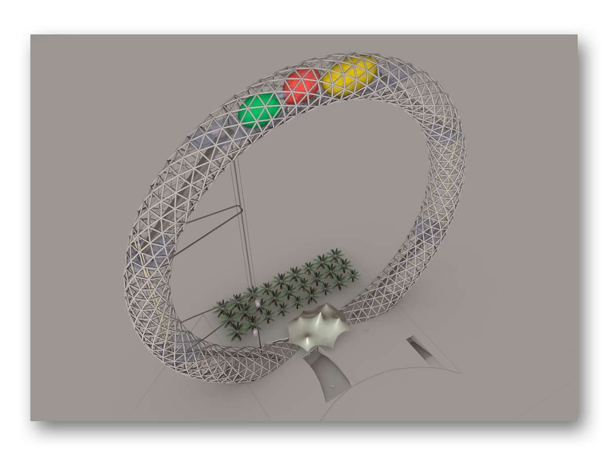3D rendu coucours Dubaï - B.SAILLOL architecture